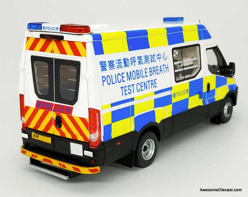 Aurora 1:43 Iveco Mobile Breathalyzer Unit: Hong Kong Police