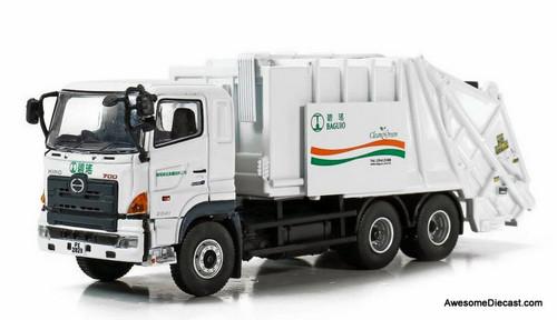 Tiny 1:76 Hino 700 Garbage Truck: Baguio City,  Philippines