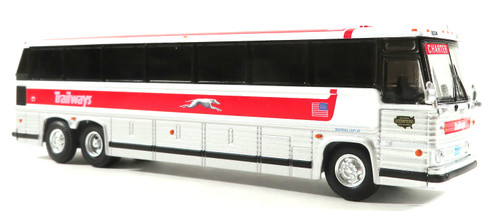 Iconic Replicas 1:87 MCI MC-9 Crusader Coach: Trailways