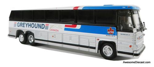Iconic Replicas 1:87 MCI MC-9 Crusader Coach: Greyhound Canada