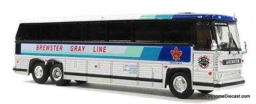 Last One!! Iconic Replicas 1:87 MCI MC-9 Crusader Coach: Brewster Gray Line / Royal Glacier Tours