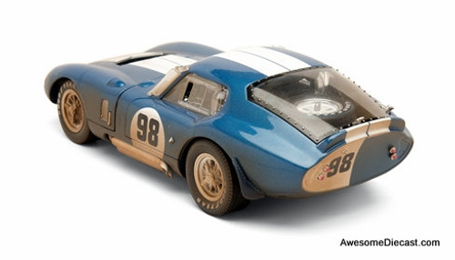 Shelby Collectibles 1:18 1965 Shelby Cobra Daytona Coupe #98: After Race Version