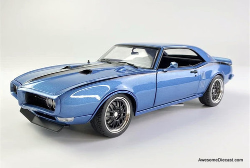 ACME 1:18 1968 Pontiac Firebird Street Fighter, Lucerne Blue