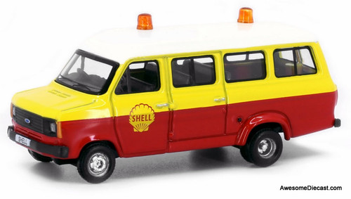 Tiny 1:76 Ford Transit Mini Van: Shell Oil