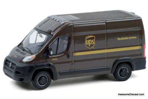Greenlight 1:64 2018 Ram ProMaster: UPS Worldwide Services