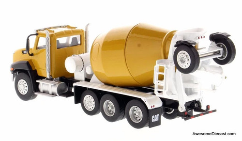 Diecast Masters 1:64 Cat CT660 Day Cab w/McNeilus Bridgemaster Concrete Mixer
