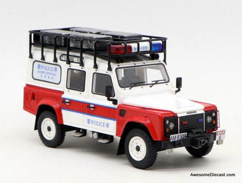 Master 1:64 Land Rover Defender 110: Hong kong Bomb Disposal Unit