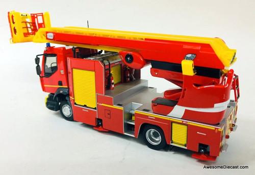 Eligor 1:43 Renault D16 EPC-33 Gimaex Riffaud Platform Fire Truck