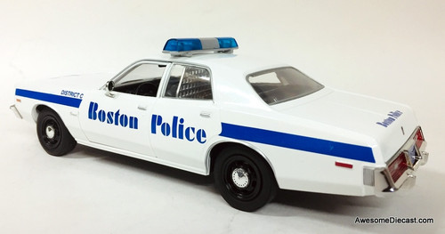 Greenlight 1:24 1976 Dodge Coronet: Boston, Massachusetts Police Department