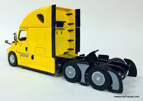 Diecast Masters 1:50 Freightliner Cascadia w/Sleeper Tractor, Yellow