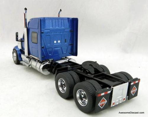 Diecast Masters 1:50 International LoneStar w/Sleeper Cab, Metallic Blue