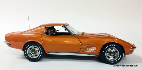 Danbury Mint 1:24 1972 Chevrolet Corvette Coupe, Metallic Copper