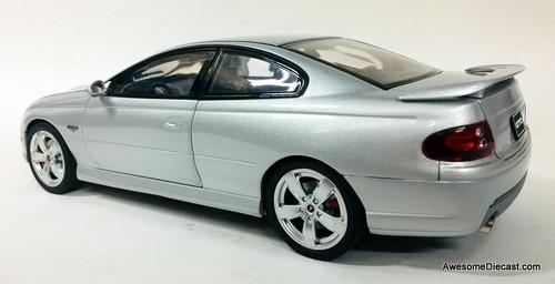 GMP 1:18 2005 Pontiac GTO Coupe, Metallic Silver