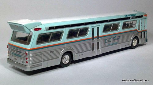ONLY ONE! Corgi 1:50 GM 5301 Fish Bowl DC Transit