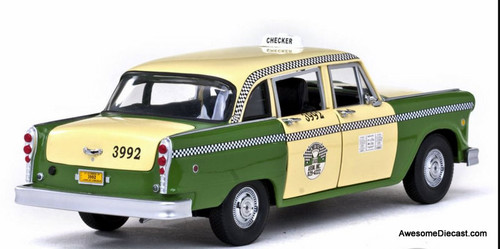 Sun Star 1:18 1981 Checker Cab: Chicago