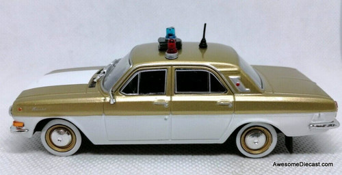 DeAgostini 1:43 1980 GAZ-24 Volga Olympic Game Special Issue: Moscow Police Department