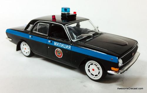 DeAgostini 1:43 Gaz 24-10 Volga Gai Special Issue: Moscow Police Department