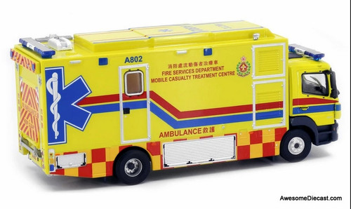 Tiny 1:76 Mercedes Benz Atego: Hong Kong Fire Department MCTC