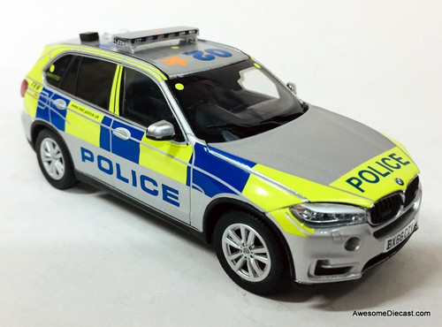 Paragon 1:43 2016 BMW X5: London Metropolitan Police Force Armed Response Unit
