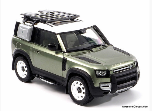 Almost Real 1:18 2020 Land Rover Defender 90, Pangea Green