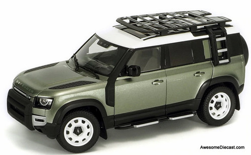 Almost Real 1:18 2020 Land Rover Defender 110, Pangea Green