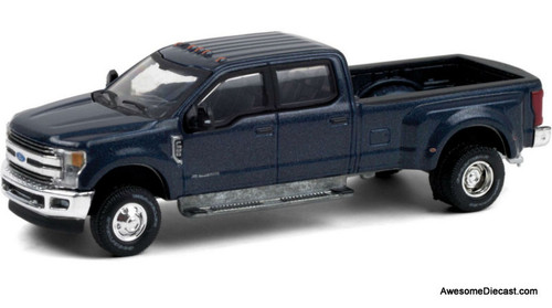 Greenlight 1:64 2019 Ford F-350 Lariat: Blue Jeans