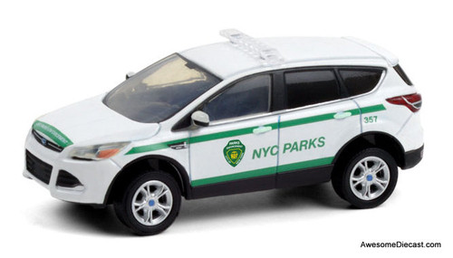 Greenlight 1:64 2013 Ford Escape: NYC Park Enforcement Patrol