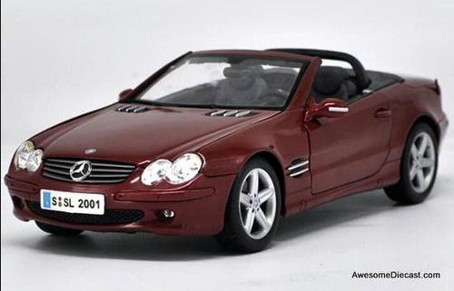 Maisto 1:18 2006 Mercedes Benz SL Convertible