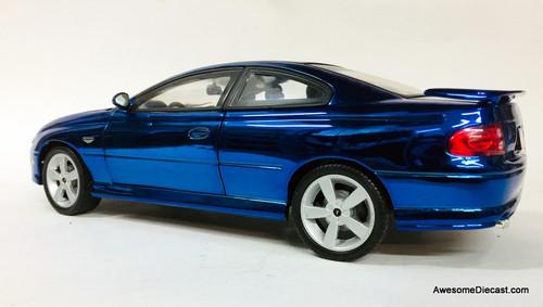 RARE!! American Muscle 1:18 2004 Pontiac GTO, Mirror Blue