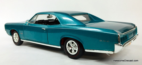 American Muscle 1:18 1966 Pontiac GTO, (Rare) Marina Turquoise