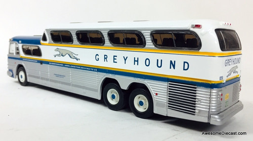 ULTRA RARE!! Corgi 1:50 GM-4501 Greyhound SceniCruiser: Lioneville Express