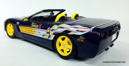 Maisto 1:18 1998 Chevrolet Corvette: Indianapolis 500 Pace Car