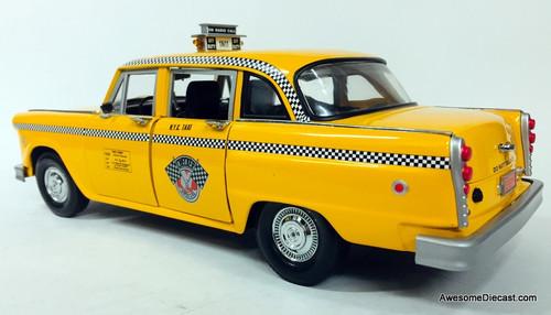 Sun Star 1:18 1981 New York Checker Cab