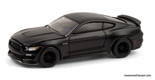 Greenlight 1:64 2016 Ford Mustang Shelby GT 350: Black Bandit Collection