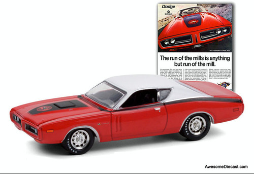 Greenlight 1:64 1971 Dodge Charger Super Bee