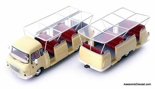 AutoCult 1:43 1965 Barkas B1000 Sightseeing Tram