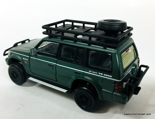 BM Creations 1:64 1996 Mitsubishi Pajero 3.0 V6: Jungle Package