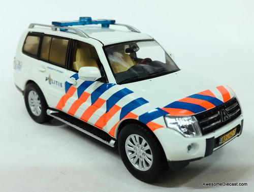 Last One!! T9 Collection 1:43 2013 Mitsubishi Pajero: Netherlands Police National Unit