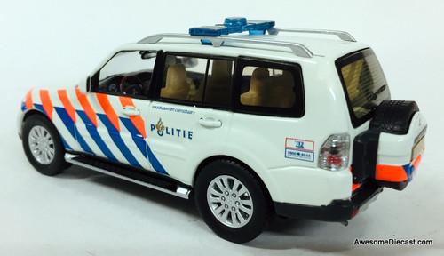 Last One!! T9 Collection 1:43 2013 Mitsubishi Pajero: Netherlands Police National Unit