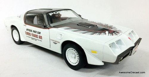 RARE!! Greenlight 1:18 1980 Pontiac Trans Am: Indianapolis 500 Official Pace Car