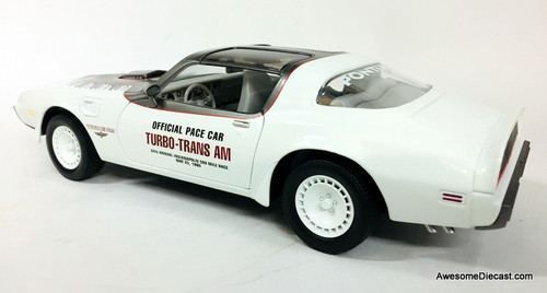 RARE!! Greenlight 1:18 1980 Pontiac Trans Am: Indianapolis 500 Official Pace Car