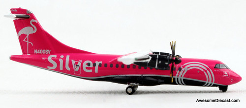 Gemini Jets 1:400 ATR-42 600: Silver Airways