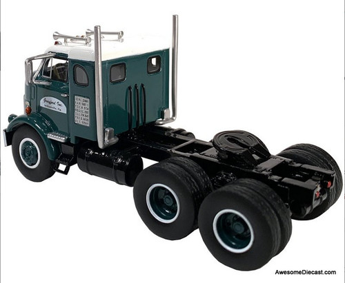 Neo 1:64 1954 GM 950 Cannonball  Sleeper Cab, Green