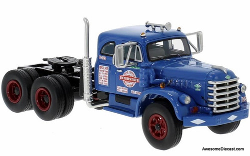 Neo 1:64 1955 Diamond T 921B Sleeper Cab: Interstate Truck Service