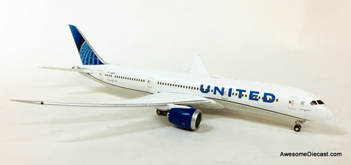 Gemini Jets 1:400 Boeing 787-9: United Airlines