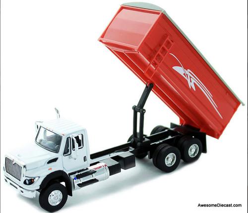 Greenlight 1:64 2018 International WorkStar Grain Truck, Red
