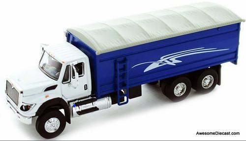 Greenlight 1:64 2018 International WorkStar Grain Truck, Blue