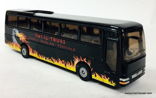 SIKU 1:87 MAN Motor Coach, Black: Metal Tours