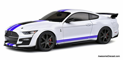 Solido 1:18 2020 Ford Shelby Mustang GT500, Oxford White
