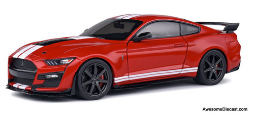Solido 1:18 2020 Ford Shelby Mustang GT500, Racing Red